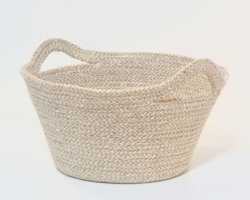 Jute basket  ALISHA, natural