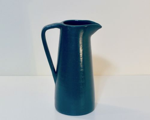 Ceramic jug CONISH seablue