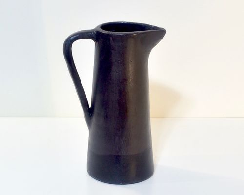 Ceramics jug CONISH black