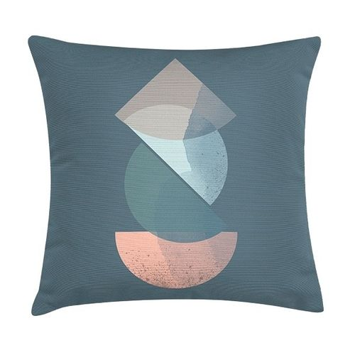 Cushion ROYD RIVER BLUE by EcoDesign