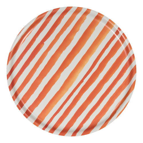 Langø tray orange-white