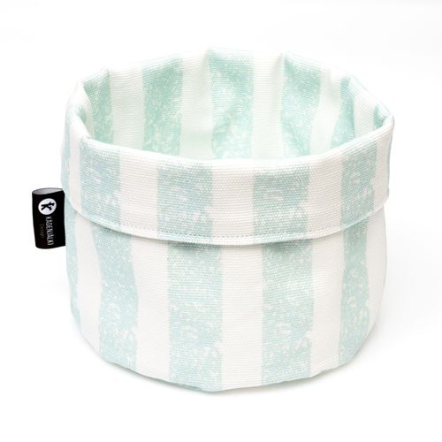Cotton basket NORTHER, mint green