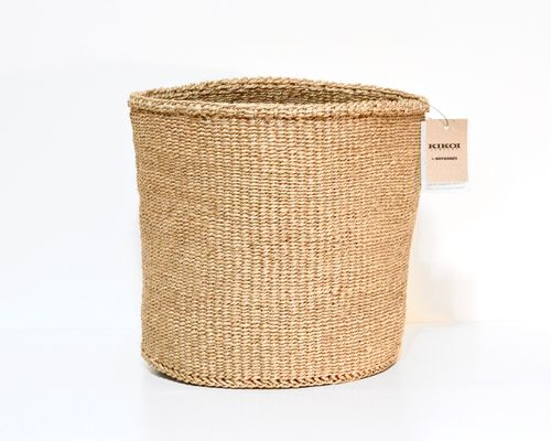 Sisal basket SISAL SISTERS, honey